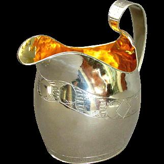 An Early 19th Century Georgian Sterling Silver Cream Jug, English Circa 1800