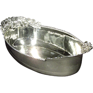 A Fine 'New Empire' Pattern Sterling Silver Bread Basket by Whiting Silver Company, Circa 1890