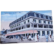 1930s Martha's Vineyard Post Card Oak Bluffs MA