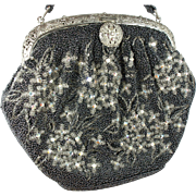 1930's Unique Beaded Purse Guaranteed Hand Made