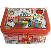 Hello Kitty Sewing Kit 1975