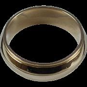14K Gold Wedding Band-Size 6