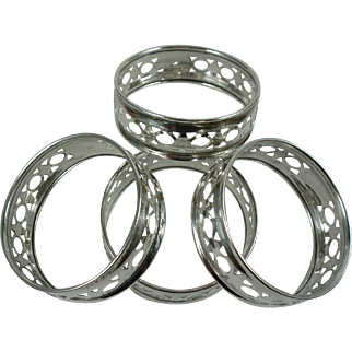 Sterling Napkin Rings Roden Bros. (4)