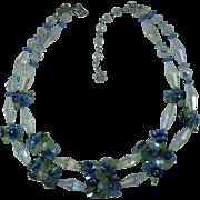 Vintage 1960s Vendome Crystal Necklace-Gorgeous