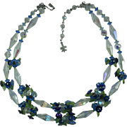 Vintage 1960s Vendome Crystal Necklace-Gorgeous