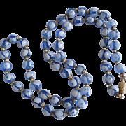 Vintage Millefiori Glass Bead Necklace