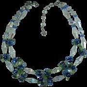 Vintage Vendome Crystal Bead Necklace
