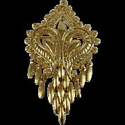 1970's Gold-tone Pendant/Brooch