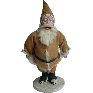 """Old 1920's Santa Claus Candy Container 12"""""""