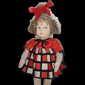 """18"""" Lenci Doll - Series 110 - RARE - All Original Condition"""