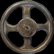 Vintage permanent mold aluminum casting wheel. Andale 162