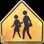 Street Sign:  School Crossing