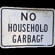 Street Sign:  Local Regulation