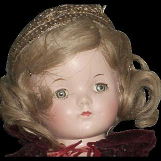 Vintage Madame Alexander's Princess Elizabeth