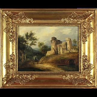 Rural Landscape, 19th Century, oil on canvas