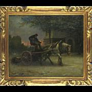The Coachman, 19th Century, oil on canvas