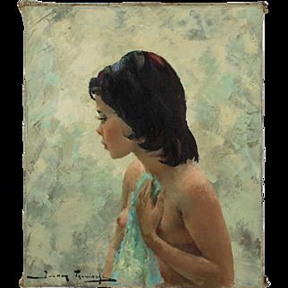 Girl in Undress, Igor Talwiński (1907 - 1983), 20th century