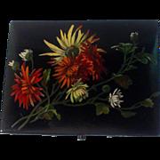 19th Century French Papier Mache Box
