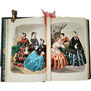 Victorian Book - World of Fashion Vol. 32 of 1855