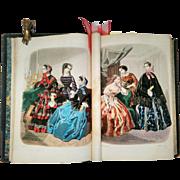 Victorian Book - World of Fashion Vol. 32 of 1855