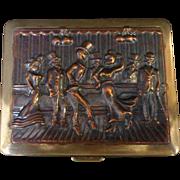 Musical Purse Powder Box C. 1930