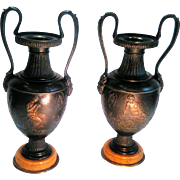 19th Century Pair of French Amphorae