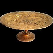 19th Century French Bronze Ormolu Tazza