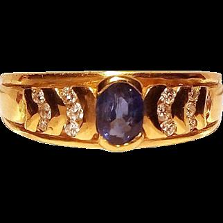 Very Fine Italian 18 Karat Gold Ring (2, 41 gr.)