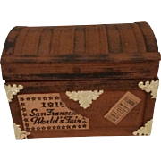 Vintage Dollhouse Trunk by Shackman