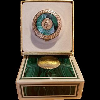 Avon Regence Perfume Glace Compact