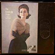 Vintage Brush Up Stole Bernat Mohairspun Wrap