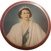 Souvenir tin for Coronation 1953 Queen Elizabeth