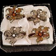 Elegant Bombay Napkin Rings