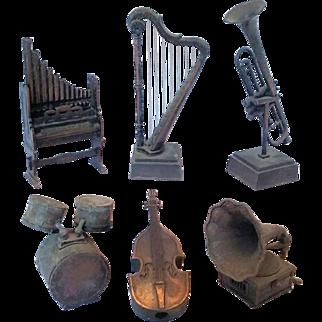Miniature Muscial Instrument Pencil Sharpner