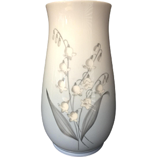 Lily of the Valley Porcelain Vase
