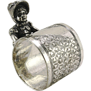 Kate Greenaway Figural Napkin Ring