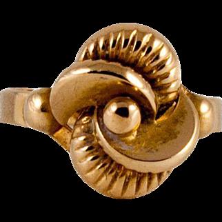 Retro 18kt Yellow Gold Ring