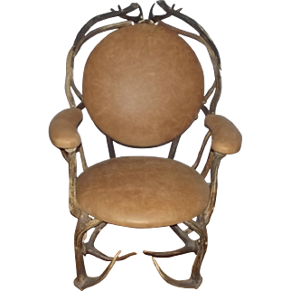 Early 20th Century Antler Chair