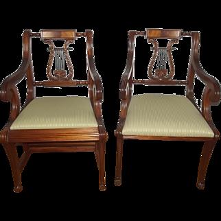19th Century English Regency Side Chairs