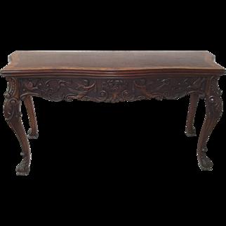 Antique Italian Extension Table