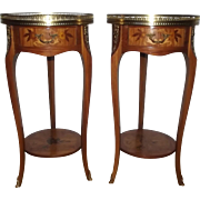Antique Louis XV Style Side Tables