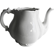 Haviland & Co Marseille all white Tea Pot