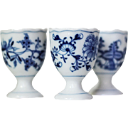 Meissen Blue Onion Single Egg Cup