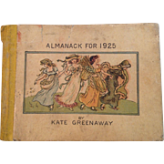 Kate Greenaway Almanack for 1925