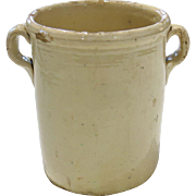 Late 19th century Italian Olive Jar