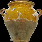 French 19th Century Confit Pot