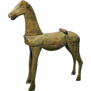 19th Century Taupe Hobby Horse