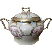 Three Crown China Germany Jar with Lid