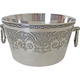 Wilcox IS Silver Plated Ice Bucket with Insert C: 1921