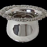 Hard To Find 1900 Sheffield Royal Castle Silver Plated Magnum Wine Bottle Coaster Holder